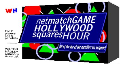 TGoJS: Amy, you've won the home version of the Net Match Game - Hollywood  Squares Hour. Two, two, two celebrity net games in one are coming to your  house as ...